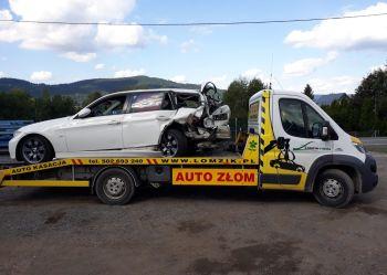 Auto kasacja - Kasacja samochodów ♻️ Łomzik